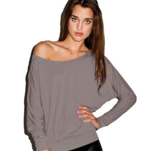 Ladies Off-Shoulder LS T Thumbnail
