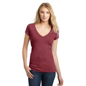 Juniors Deep V Neck Thumbnail