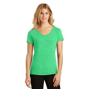 Ladies Tri Blend V Neck T Thumbnail