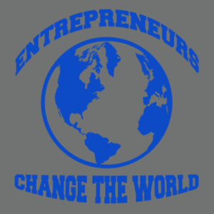 Change the World - Ladies Tri-Blend V-Neck T Design