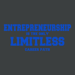 Limitless - Ladies Tri-Blend V-Neck T Design