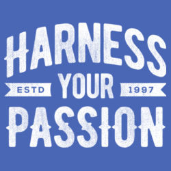 Harness Your Passion - Adult Soft Tri-Blend T Design