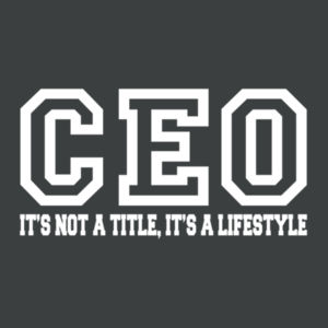 CEO - Adult Soft Tri-Blend T Design
