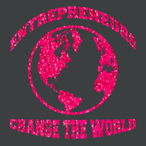 Change the World - Adult Tri-Blend Long Sleeve Hoodie Design