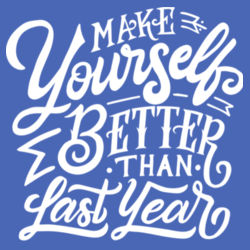 Make Yourself Better - Ladies Tri-Blend Racerback Tank Design