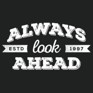 Always Look Ahead - Adult Colorblock Sweatshirt Design