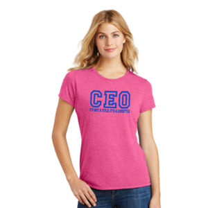 CEO - Ladies Tri-Blend T Thumbnail