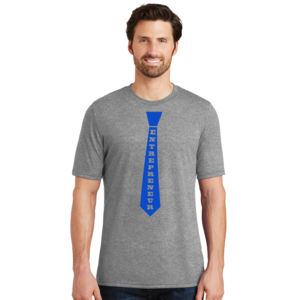 Entrepreneur Tie - Adult Soft Tri-Blend T Thumbnail