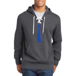 Entrepreneur Tie - Lace Hooded Sweatshirt Thumbnail