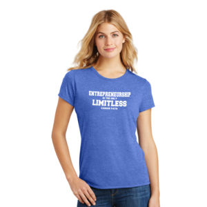 Limitless - Ladies Tri-Blend T Thumbnail