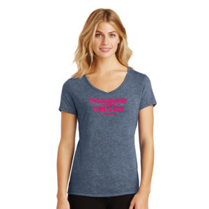 Limitless  - Ladies Tri-Blend V-Neck T Thumbnail