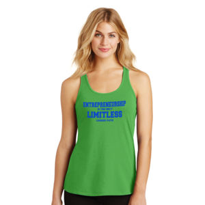 Limitless - Ladies Gathered Racerback Tank Thumbnail