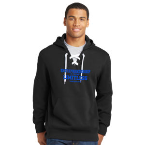 Limitless - Lace Hooded Sweatshirt Thumbnail