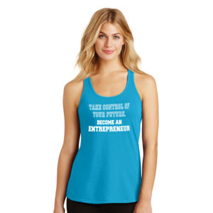 Take Control - Ladies Gathered Racerback Tank Thumbnail