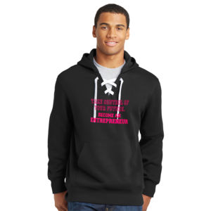 Take Control - Lace Hooded Sweatshirt Thumbnail