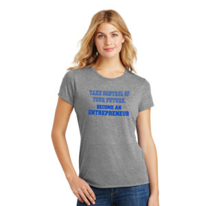 Take Control - Ladies Tri-Blend T Thumbnail