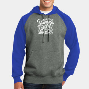 Make Yourself Better - Adult Colorblock Sweatshirt Thumbnail