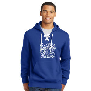 Make Yourself Better - Lace Hooded Sweatshirt Thumbnail