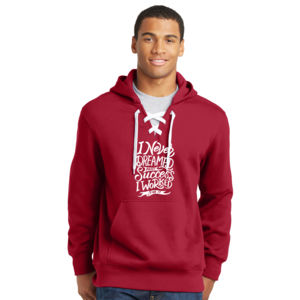 I Never Dreamed About Success - Lace Hooded Sweatshirt Thumbnail