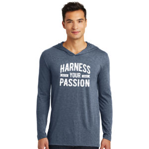 Harness Your Passion - Adult Tri-Blend Long Sleeve Hoodie Thumbnail