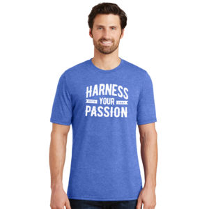 Harness Your Passion - Adult Soft Tri-Blend T Thumbnail
