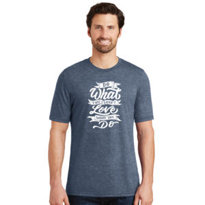 Do What You Love - Adult Soft Tri-Blend T Thumbnail