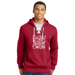 Do Good And Good Will Come to You - Lace Hooded Sweatshirt Thumbnail
