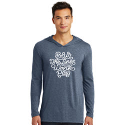 Blur the Lines - Adult Tri-Blend Long Sleeve Hoodie Thumbnail