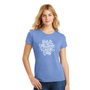 Blur the Lines - Ladies Tri-Blend T Thumbnail