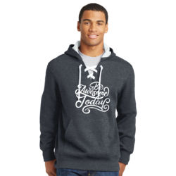 Be Awesome Today - Lace Hooded Sweatshirt Thumbnail