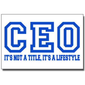 CEO Blue - 24 x 36 Poster Thumbnail