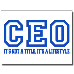 CEO Blue - 18 x 24 Poster Thumbnail