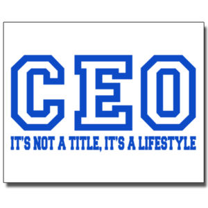 CEO Blue - 16 x 20 Poster Thumbnail