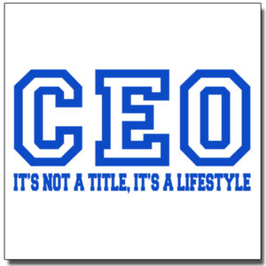 CEO Blue - 12 x 12 Poster Thumbnail