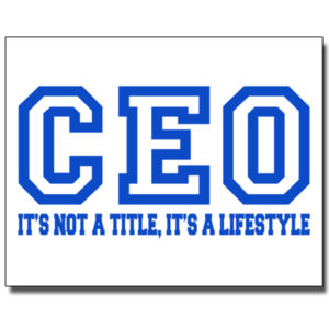 CEO Blue - 11 x 14 Poster Thumbnail