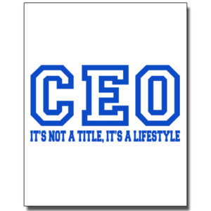 CEO Blue - 8 x 10 Poster Thumbnail