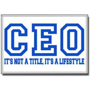 CEO Blue - 24 x 36 Canvas (Wrapped) Thumbnail