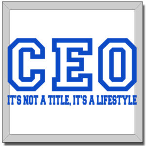 CEO Blue - 12 x 12 Canvas (Wrapped) Thumbnail