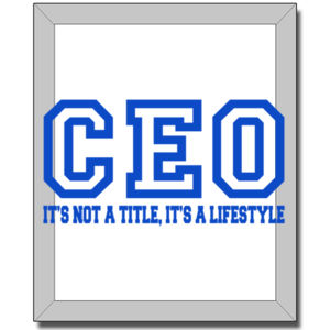CEO Blue - 8 x 10 Canvas (Wrapped) Thumbnail
