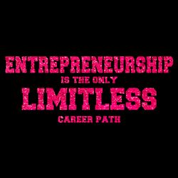 Entrepreneurship is Limitless (PINK GLITTER) Thumbnail