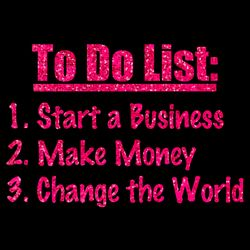 To Do List (PINK GLITTER) Thumbnail