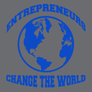 Change the World - Ladies Gathered Racerback Tank Design