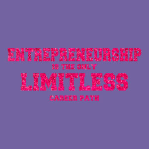Limitless  - Ladies Tri-Blend T Design